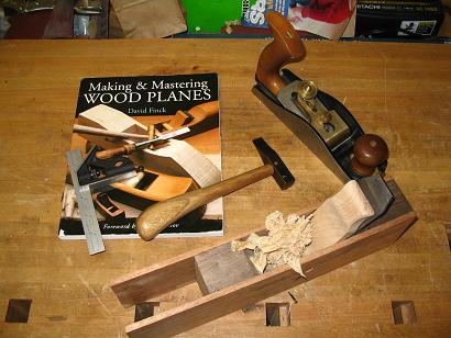 making woodworking planes